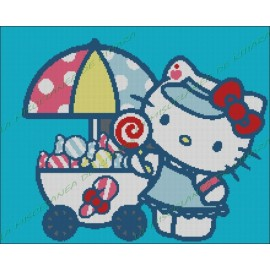 Hello Kitty with Candy