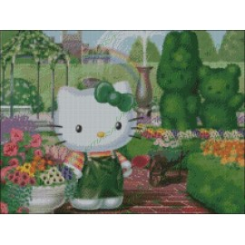 Hello Kitty Jardinera