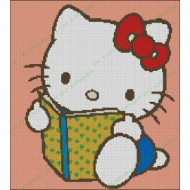 Hello Kitty Reading