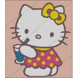 Hello Kitty with Refreshment