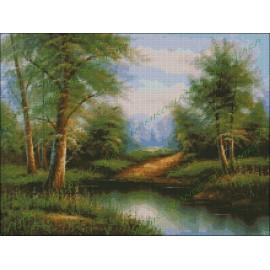 Río en el Bosque