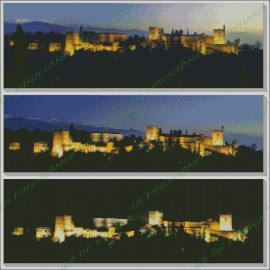 Dusk in the Alhambra