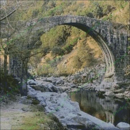 Roman Bridge Garganta Alardos