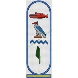 Nombres en Jeroglíficos Egipcios