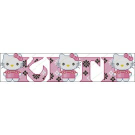 Nombres con letras de Hello Kitty