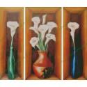 Water Lilies Vases