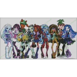 Personajes Monster High