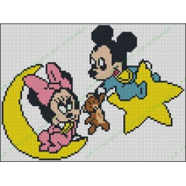 Mickey and Minnie Babies 1