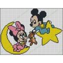 Mickey y Minnie bebés 1