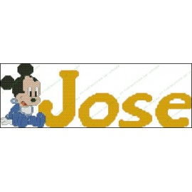 Nombres Disney - Mickey Mouse Bebe