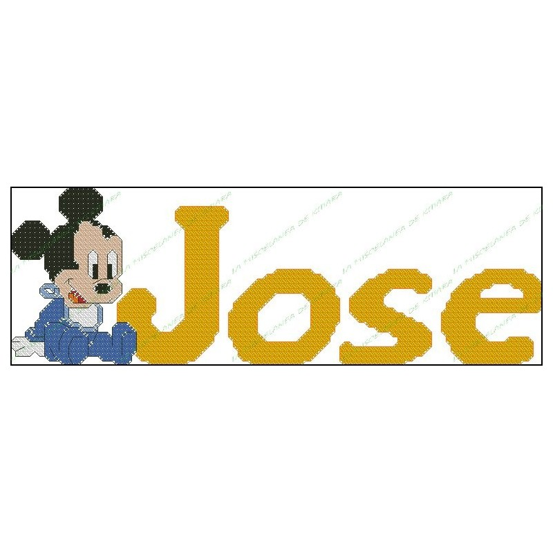 Nombres Disney - Mickey Mouse Bebe
