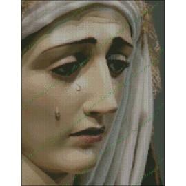 Rostro de Nuestra señora de los dolores