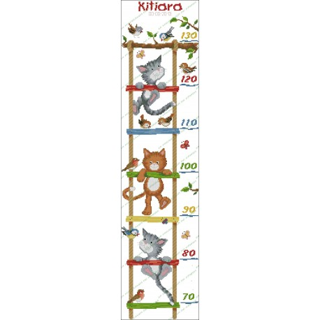 Height Chart Kittens ladder