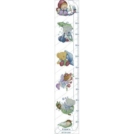Height Chart Children's Toys