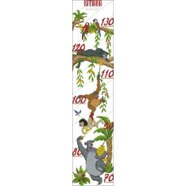 Height Chart Jungle Book