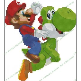 Super Mario Bros y Yoshy