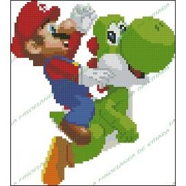 Super Mario Bros y Yoshy