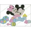 Mickey and Minnie babies and Toys