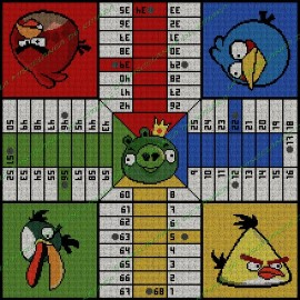 Angry Birds parchis