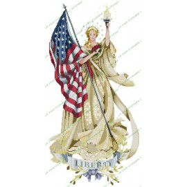 La dama de la bandera
