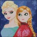 Elsa y Anna - Frozen