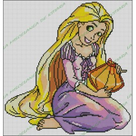 Rapunzel with Lantern