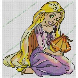 Rapunzel with Lantern