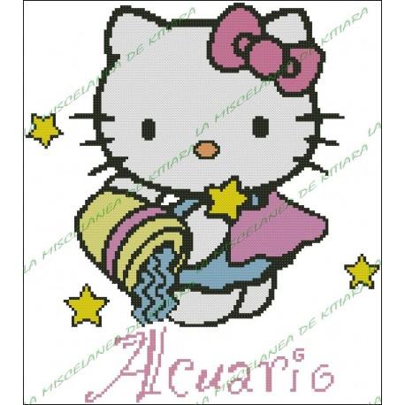 Hello Kitty Horoscope Aquarius