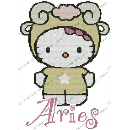 Hello Kitty Horoscope Aries