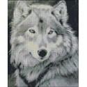 Lobo Blanco y negro
