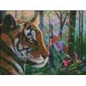 Tigre con hadas