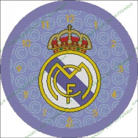 Clock Real Madrid