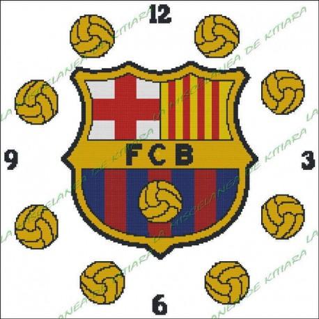 Clock F.C. Barcelona 2