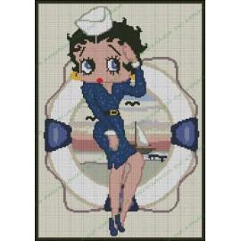 Betty Boop Marinera