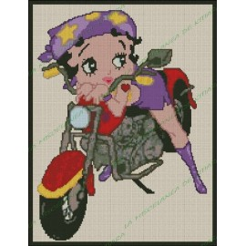 Betty Boop Biker