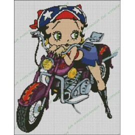 Betty Boop Motorista 2