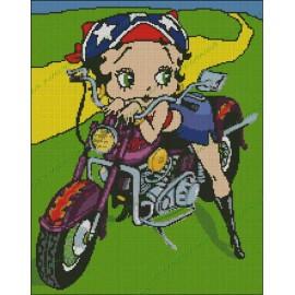 Betty Boop Motorista 2a