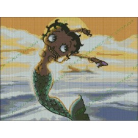 Betty Boop Mermaid