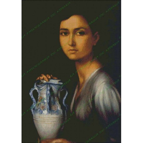 The girl in the Jar