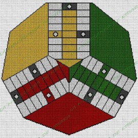 Basic Parchis 3 players