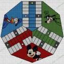 Parchis 3 jugadores Mickey y Amigos