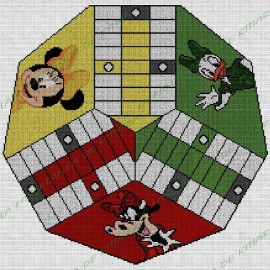 Parchis 3 players Minnie Mouse and Friends