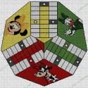 Parchis 3 jugadores Minnie Mouse y Amigas