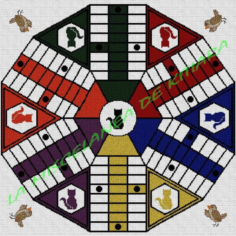 Parchis 6 players