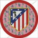 Clock Reloj Atletico de Madrid