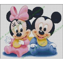 Mickey and Minnie babies