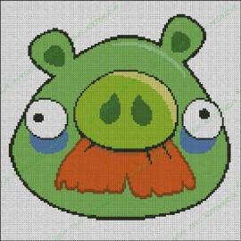 Angry Birds - Cerdo con Bigote