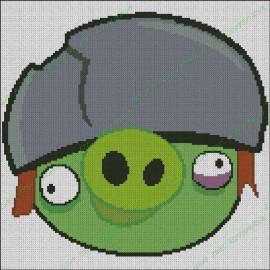 Angry Birds - Cerdo con Casco