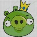 Angry Birds - Cerdo Rey