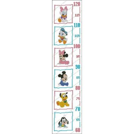 Height Chart Disney Babies